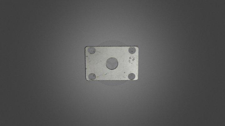 Surface HD50 金属块 3D Model
