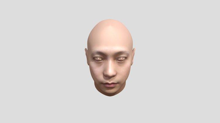 Human Head   Wael Tsar 3D Model