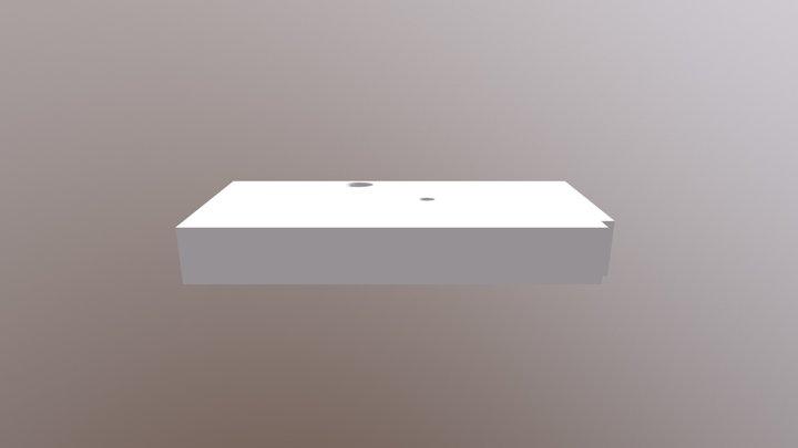 Top Vertical Wall for Star Trek Tricorder 3D Model