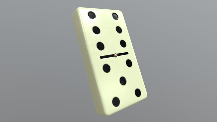 Dominoes tail 3D Model