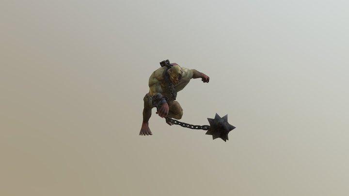 deformed giant - attack 3 3D Model
