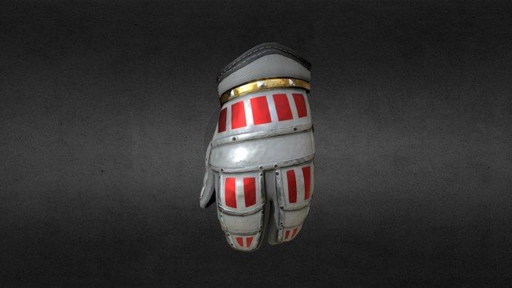 Glove PBR Re-texture (Quixel) 3D Model