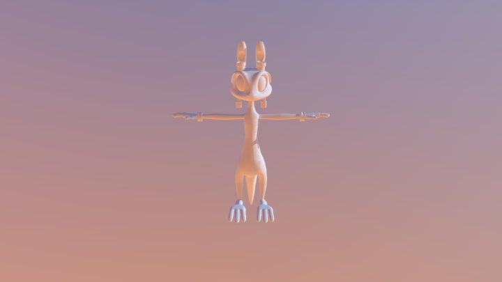 Daxter Model 3D Model
