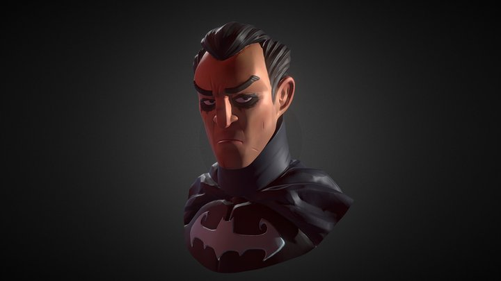 Bruce Wayne 3D Model