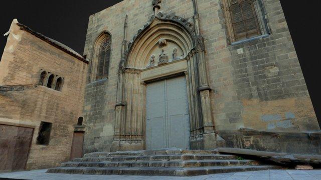 Fachada Basilica San Justo y Pastor (Barcelona) 3D Model