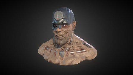 Mean Machine Angel 3D Model