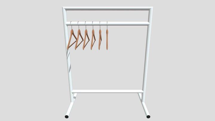 hanger holder 3D Model