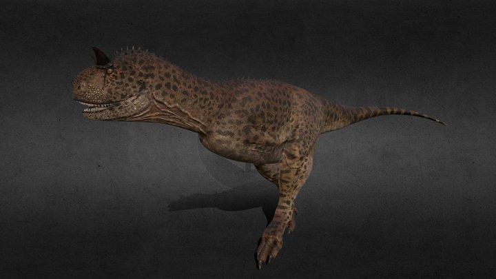 Carnotaurus satrei 3D Model
