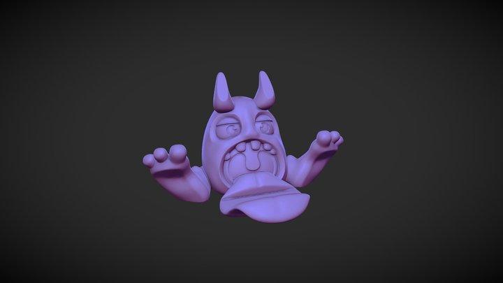 Monster Phone Stand 3D Model