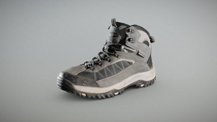 Bearpaw Hiking Boot 3D Model