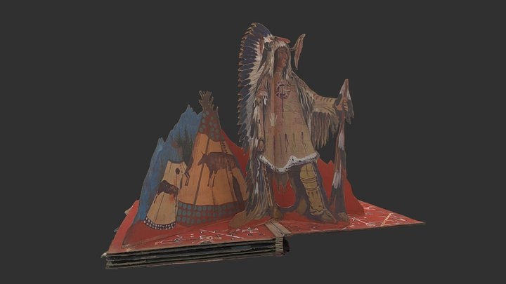 The Indian (stage set 5 of 5) 3D Model