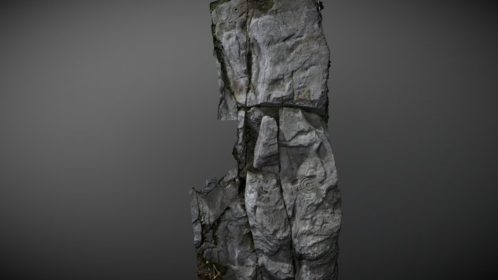 Hunterheugh 1 (pt 5) May 2007 3D Model