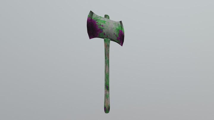 Battle-axe 3D Model
