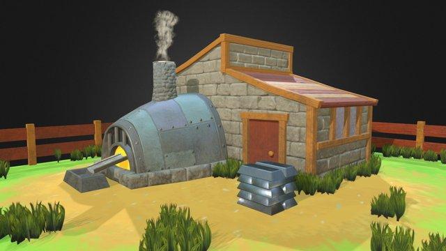 Iron melt 3D Model