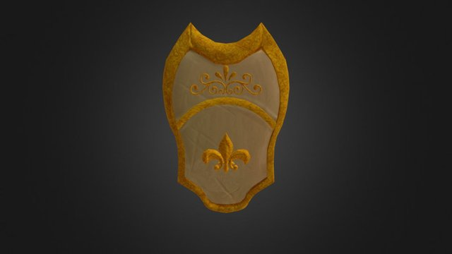 Shield Design for Hunter 3D Model