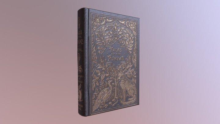Victorian Book: Closed 3D Model