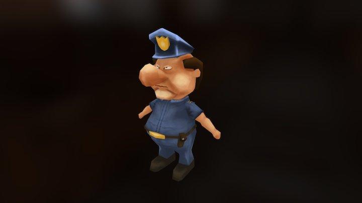3d Character 3D Model