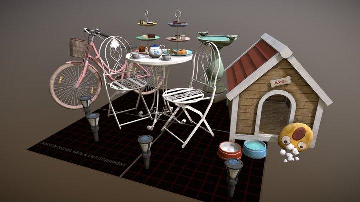 5 Props Assignment - DAE Q-Week 2020 3D Model