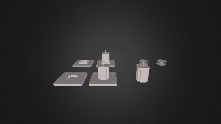 Motory_oprava 3D Model