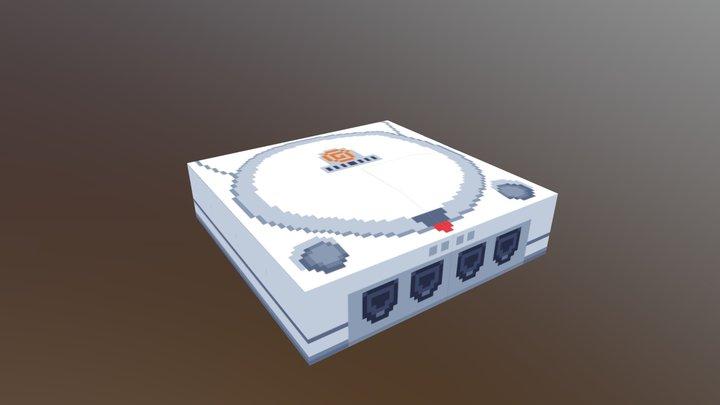 Dreamcast 3D Model