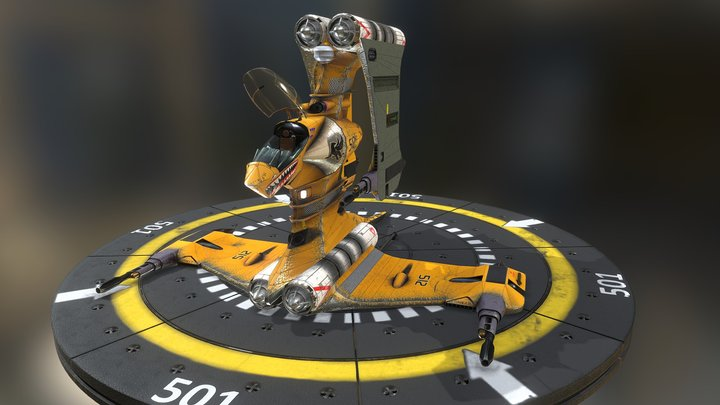T-Fighter 3D Model
