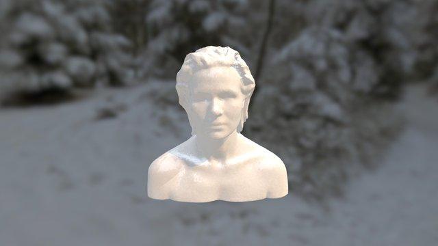 Kristi Portrait 3D Model