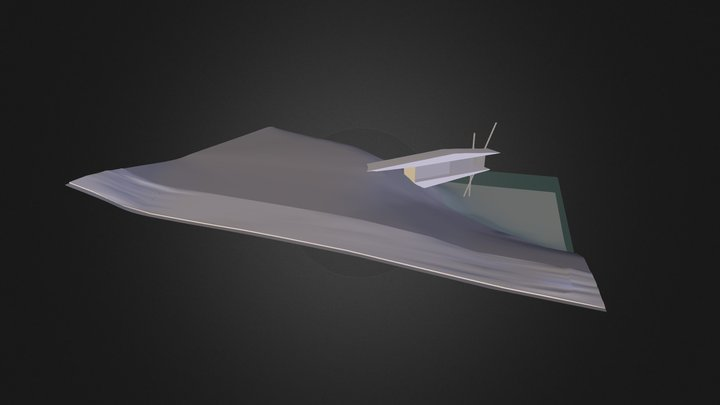 Lakeside Villa 3D Model