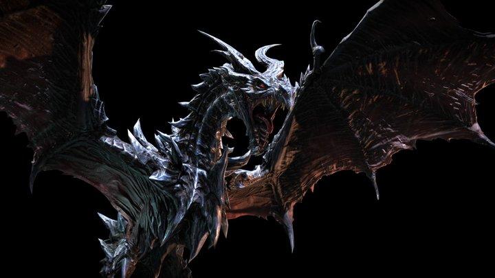 Alduin, The World Eater 3D Model