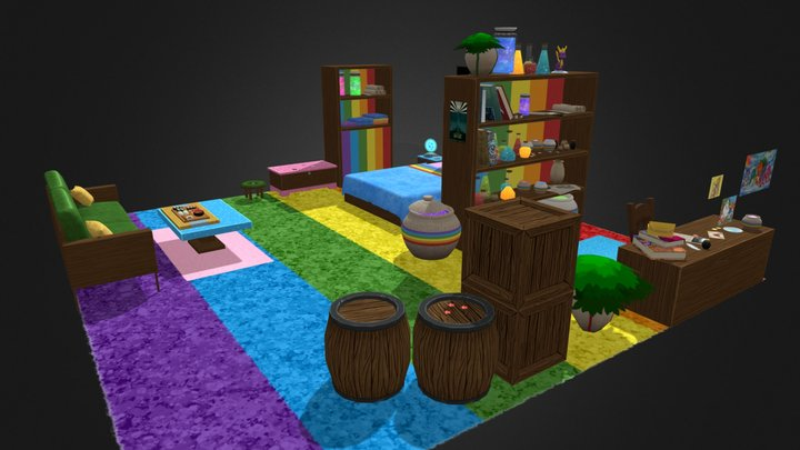 RainbowRoom 3D Model