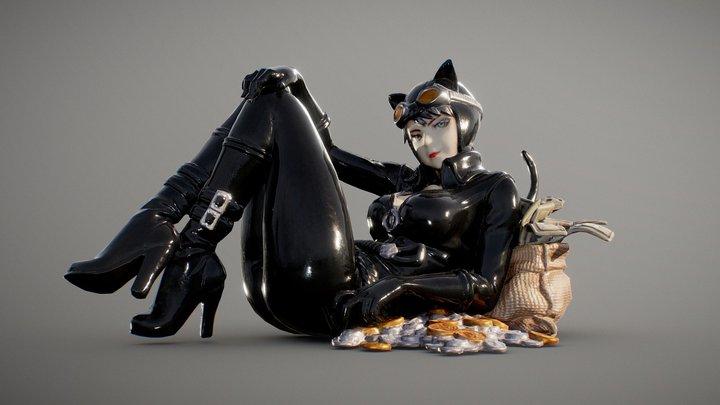 Catwoman Returns 3D Model