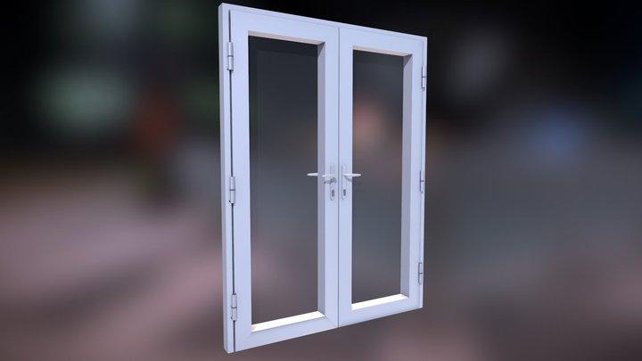 Aluminiun Door 3D Model