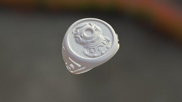 first world war university ring 3D Model