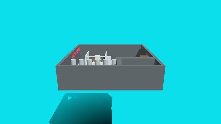 Carcere Massima Sicurezza 2amontebello 3D Model
