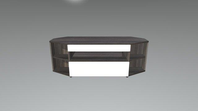 Nexera Corner TV Stand 3D Model