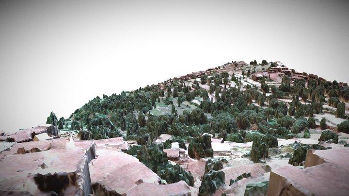 TIZI N'Oucheg/ Region de Marrakech, Maroc 3D Model