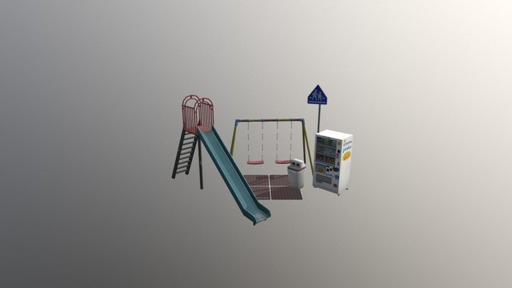 1DAE16 Desmadryl Joeri 5 Props 3D Model