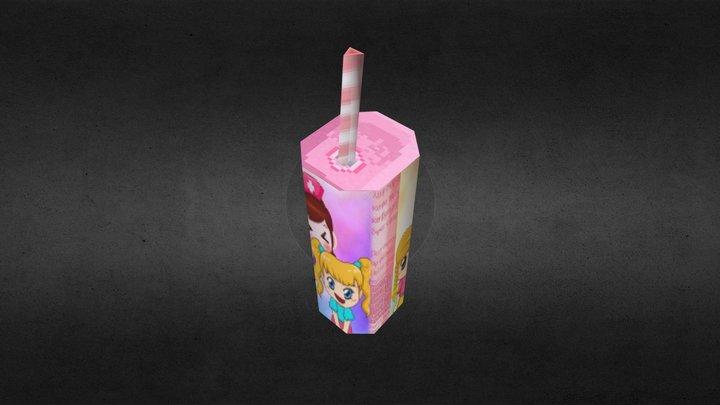 Juice Cylinder (old design) 3D Model