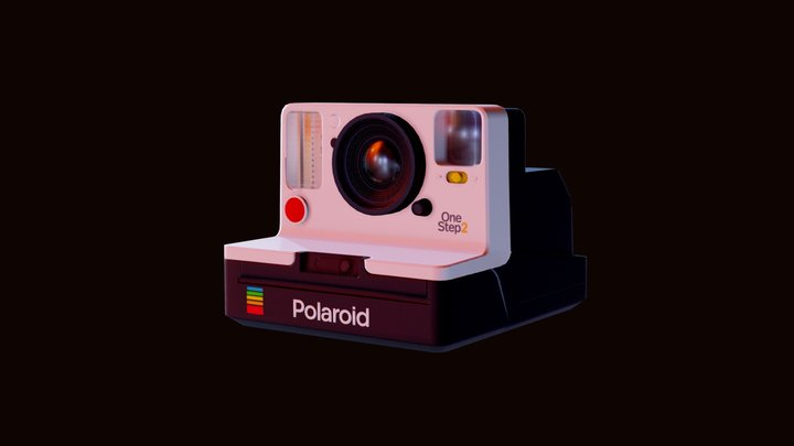 Polaroid OneStep 2 3D Model
