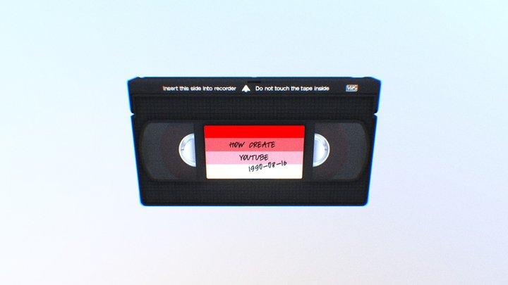 VHS 3D Model