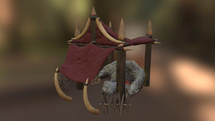 Orcs Settlement - Blacksmith 3D Model