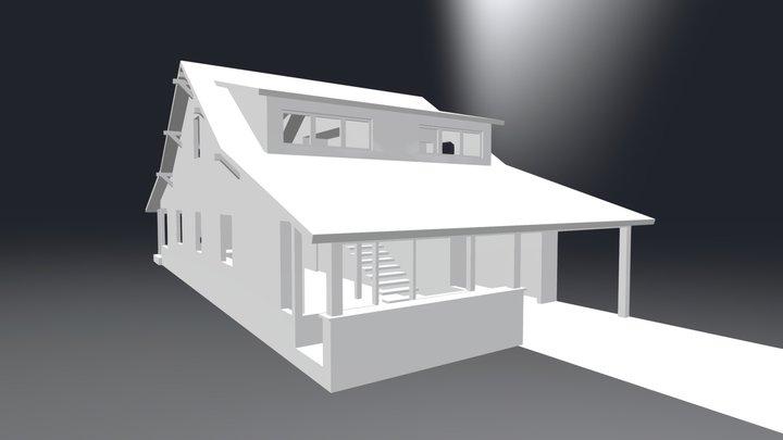 Montana Bungalow 3D Model