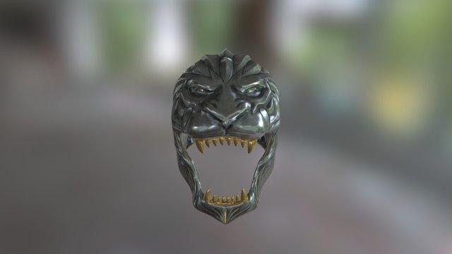 King llane helmet 3D Model