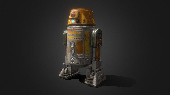 """Chopper"" R6 Droid 3D Model"