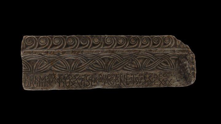 Ulomak oltarne pregrade/Fragment of an altar 3D Model