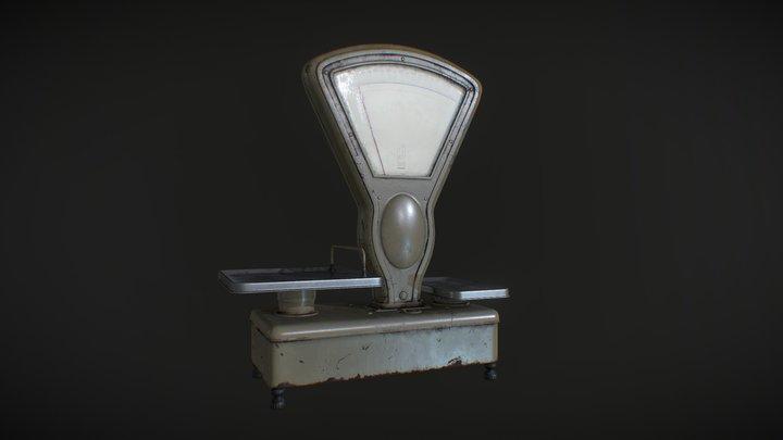 Soviet scales 3D Model
