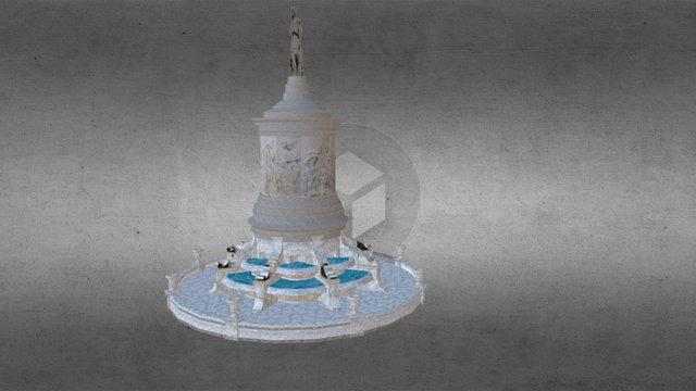 Monumento a Gayarre 3D Model