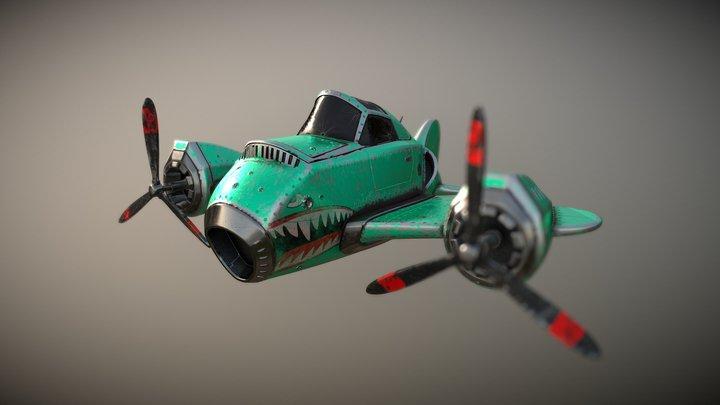 Plane (old work) 3D Model