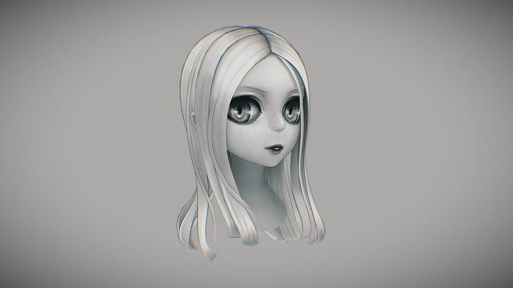 Head1 3D Model