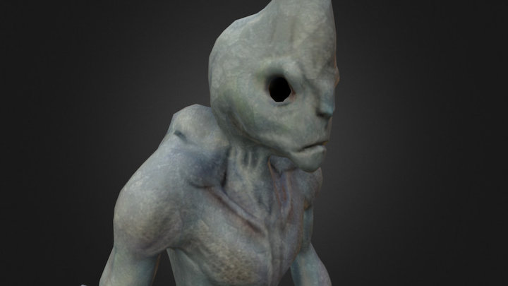 Alien Updated 3D Model
