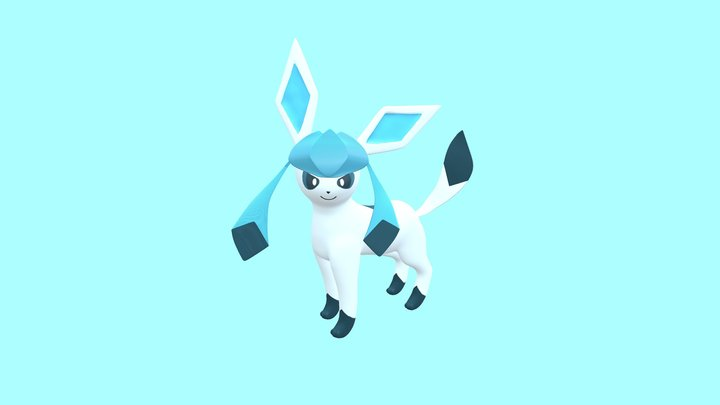 Glaceon 3D Model